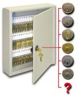 95 Key Expandable Cabinet with Keyable Lock